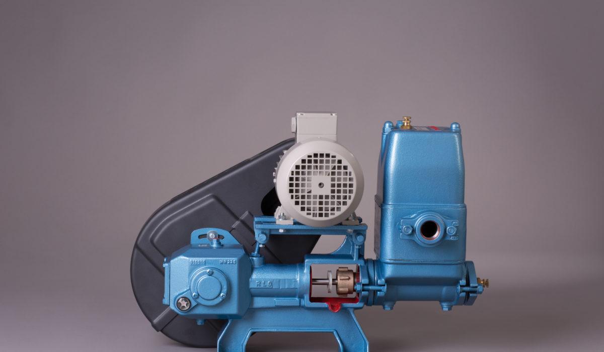 Kolbenpumpe ohne Getriebe